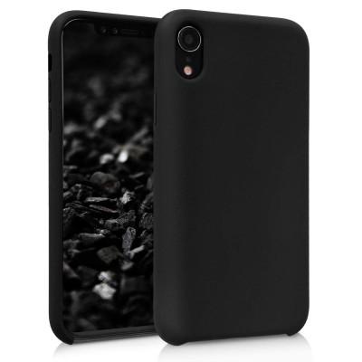 Θήκη σιλικόνης μαύρη για iPhone XR