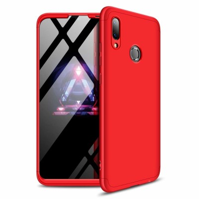 360 Full Cover Case & Tempered Glass For Huawei Y7/Y7 Prime (2019) Red - (46-61005)