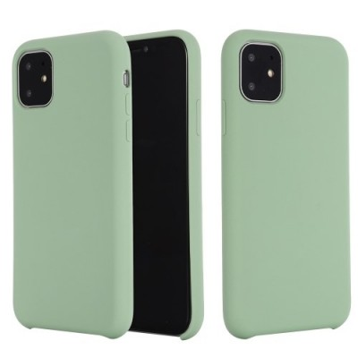 My Colors Original Liquid Silicon For iPhone 11 Pro Light Green (200-105-776)