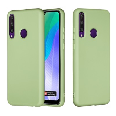 My Colors Original Liquid Silicon For Huawei Y6P Light Green