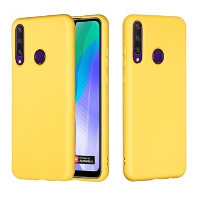 My Colors Original Liquid Silicon For Huawei Y6P Yellow