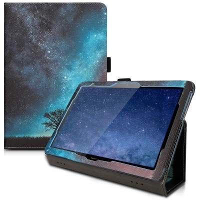 Θήκη-smart cover με stand για Huawei MediaPad T5 10 μπλέ Cosmic Nature by KW (200-104-550)