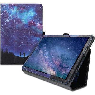 Θήκη-smart cover με stand για Huawei MediaPad T5 10 Star Gazers Blue/Dark Pink/Black by KW (200-107-655)