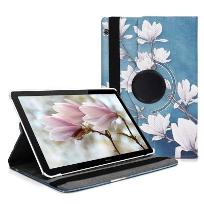 KW Θήκη 360° Huawei MediaPad T5 10'' - Taupe/White/Blue Grey (200-103-627)