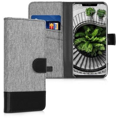 Θήκη-Πορτοφόλι για Huawei Mate 20 Pro γκρι by KW