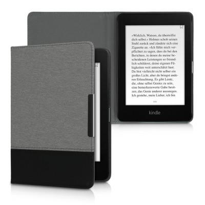 KW Θήκη e-Reader για Amazon Kindle Paperwhite (10. Gen - 2018) Grey/Black (200-104-565)
