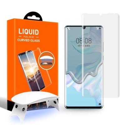 T-MAX Liquid Full Glue 3D Tempered Glass - Σύστημα προστασίας οθόνης Huawei P30 Pro (46719)