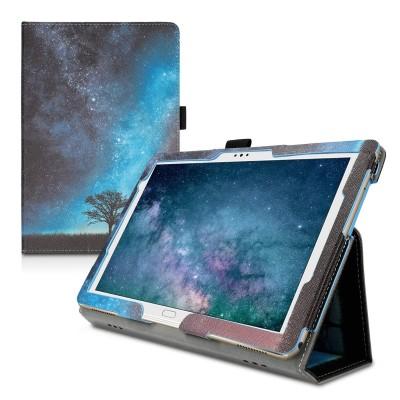 Θήκη-smart cover με stand για Huawei MediaPad Μ5 Lite 10 μπλε- Cosmic Nature by KW (200-105-155)