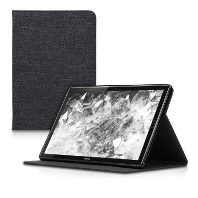 Θήκη-smart cover με stand για Huawei MediaPad Μ5 10 σκούρο γκρι by KW (200-105-495)