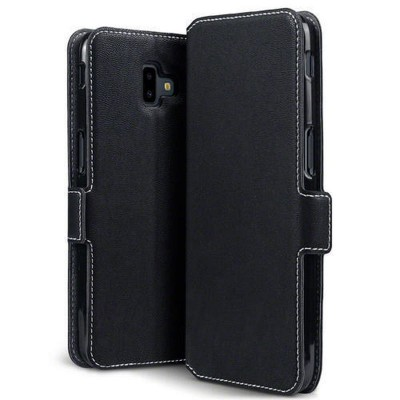 Terrapin Low Profile Θήκη - Πορτοφόλι Samsung Galaxy J6 Plus 2018 - Black