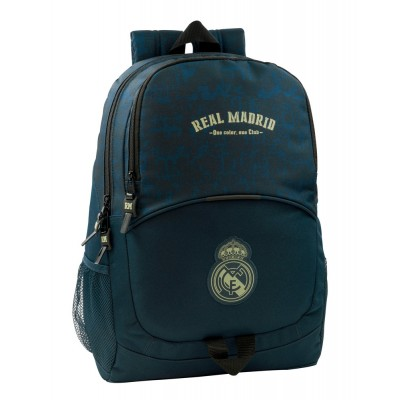 Σχολική Τσάντα Real Madrid με το σήμα της ομάδας - Επίσημο Προϊόν (100-100-957)