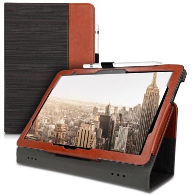 Θήκη-smart cover με stand για Huawei MediaPad T5 10 Black / Dark Brown by KW (200-105-476)