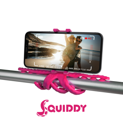 Celly Squiddy Flexible Μίνι Τρίποδο - Pink (SQUIDDYPK)