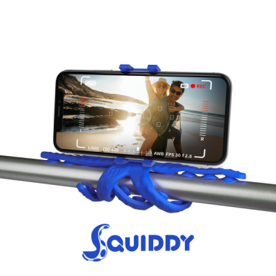 Celly Squiddy Flexible Μίνι Τρίποδο - Blue (SQUIDDYBL)