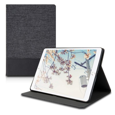 Θήκη-smart cover για Apple iPad Air (2019) Anthracite/Black by KW (200-104-167)