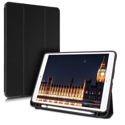 Θήκη-smart cover with Pen Holder για Apple iPad Air (2019) black by KW (200-104-168)