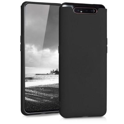 KW Θήκη Σιλικόνης Samsung Galaxy A80 - Black Matte (200-104-376)