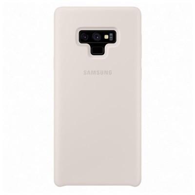 Samsung Official Silicon Cover - Θήκη Σιλικόνης Samsung Galaxy Note 9 - White (EF-PN960TWEGWW)