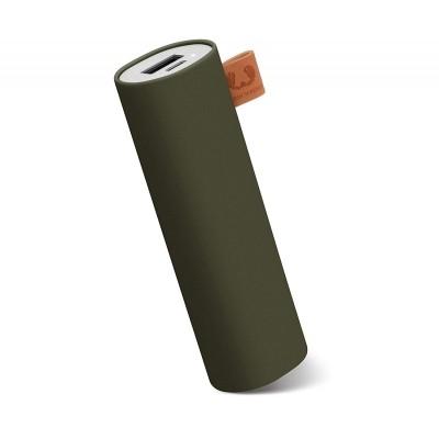 Fresh 'N Rebel Φορητή Μπαταρία Φόρτισης (Power Bank) - 3000mAh - Green Army (2PB1000AR)