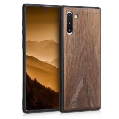 KW Ξύλινη Θήκη Samsung Galaxy Note 10 - Dark Brown (200-104-393)