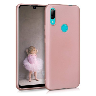 KW Θήκη Σιλικόνης Huawei P Smart Z - Metallic Rose Gold (200-104-300)
