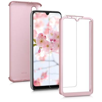 KW Θήκη Full Body Xiaomi Mi A3 / CC9e & Screen Protector - Metallic Rose Gold (200-104-480)