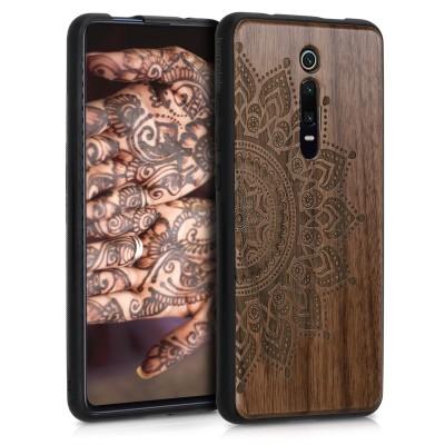 KW Ξύλινη Θήκη Xiaomi Mi 9T (Pro) / Redmi K20 (Pro) - Brown - Compass walnut (200-104-562)