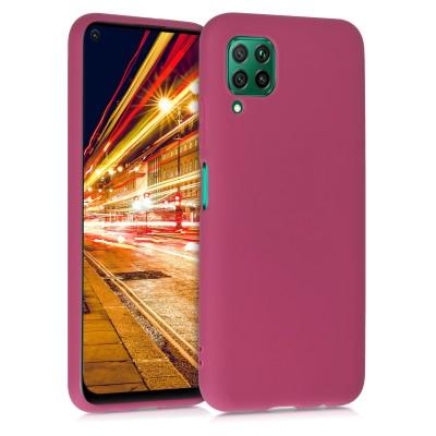 KW Θήκη Σιλικόνης Huawei P40 Lite - Fuchsia (200-105-629)