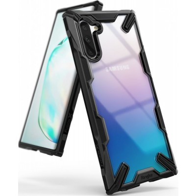 Ringke Fusion-X Θήκη Samsung Galaxy Note 10 - Black / Transparent (51542)