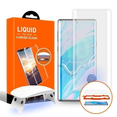 T-MAX Liquid Full Glue 3D Tempered Glass - Σύστημα προστασίας οθόνης Samsung Galaxy Note 10 Plus (51703)