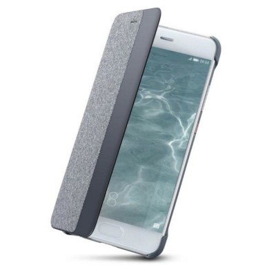 Huawei P10 Plus Smart View Cover Case Light Grey