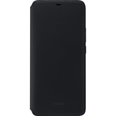 Official Θήκη Huawei Mate 20 Pro Wallet - Black (200-106-088)