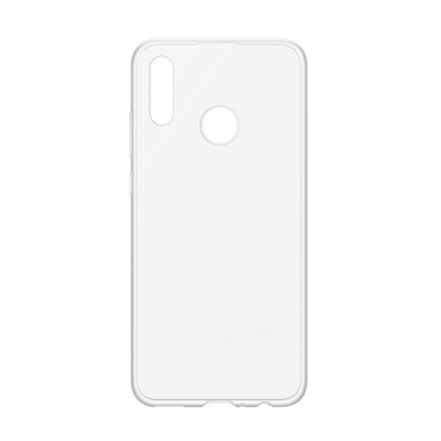 Official Huawei Silicon Case P Smart 2019 Διάφανη