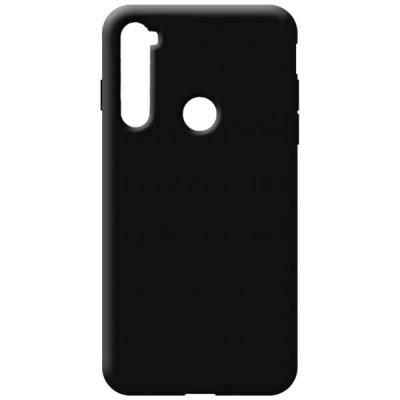 OEM Soft Touch Silicon για Xiaomi Redmi Note 8T Black