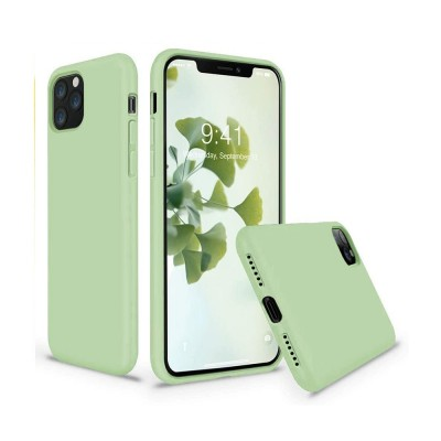 My Colors Original Silicone Case For iPhone 12 / 12 Pro Light Green (200-108-258)