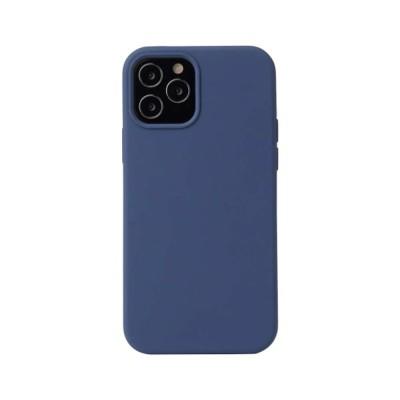 My Colors Original Silicone Case For iPhone 12 / 12 Pro Dark Blue (200-108-257)