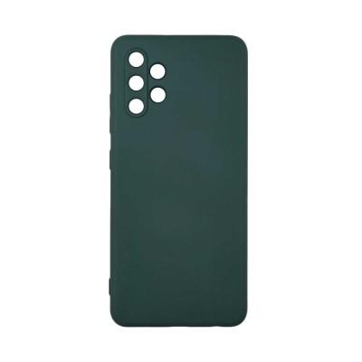 My Colors Θήκη Σιλικόνης Samsung Galaxy A32 4G - Σκούρο πράσινο (200-108-170)