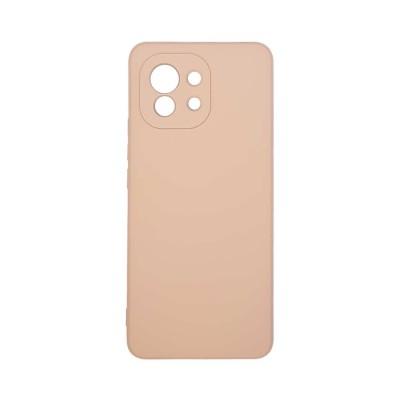 Θήκη σιλικόνης My Colors για Xiaomi Mi 11 Ροζ (200-108-253)