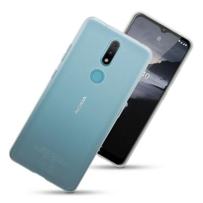 Terrapin Διάφανη Θήκη Σιλικόνης Nokia 2.4 - Clear (118-001-302)