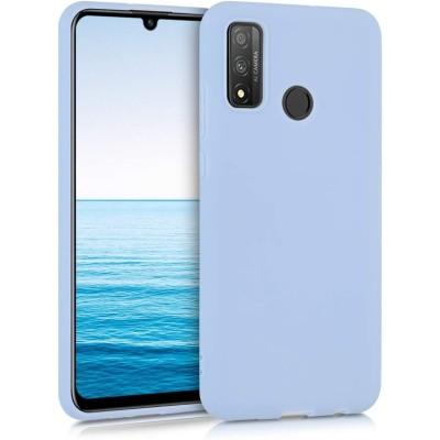 KW Θήκη Σιλικόνης Huawei P Smart (2020)- Light Blue Matte (200-106-043)