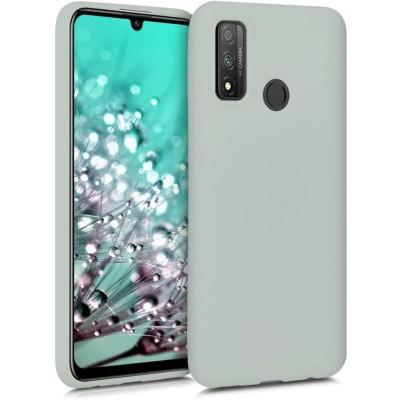 KW Θήκη Σιλικόνης Huawei P Smart (2020)- Light Grey Matte (200-106-044)