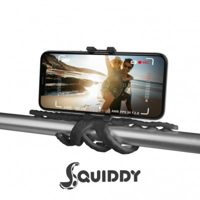 Celly Squiddy Flexible Μίνι Τρίποδο - Black (SQUIDDYBK)