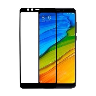 RedShield Tempered Glass - Fullface Αντιχαρακτικό Γυαλί Οθόνης Xiaomi Redmi 5 - Black (RSHITEMP10BK)