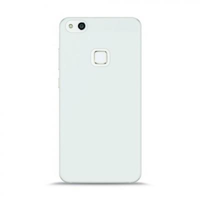 Puro Ultra Slim Θήκη Σιλικόνης Huawei P10 Lite & Frammed Tempered Glass - White Semi - Transparent (HWP10L03SDGFR)