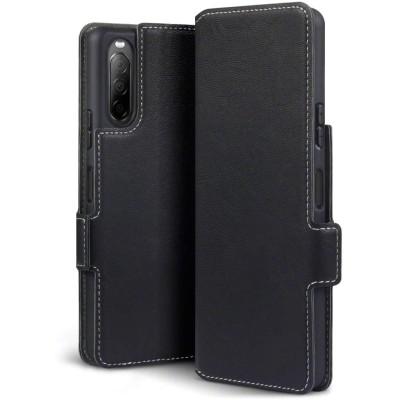 Terrapin Low Profile Θήκη - Πορτοφόλι Sony Xperia 10 II - Black (117-005-681)