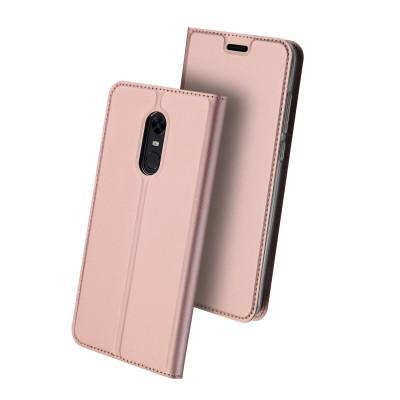 Duxducis Θήκη - Πορτοφόλι Xiaomi Redmi 5 Plus - Rose Gold