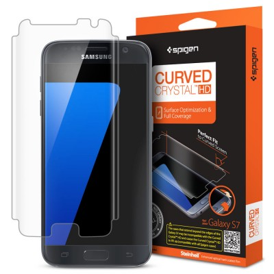 Spigen Galaxy S7 Screen Protector Curved Crystal HD (555FL20265)