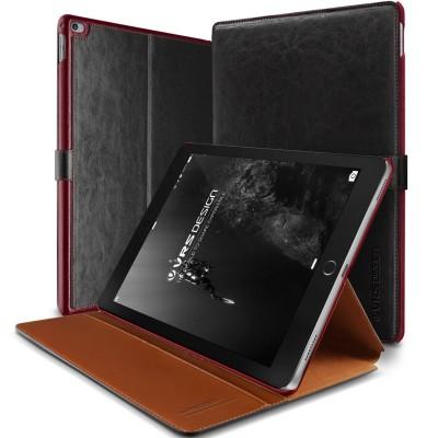 Verus Δερμάτινη Θήκη iPad Pro 12.9'' - Πορτοφόλι (VRIPP-LDDBK)