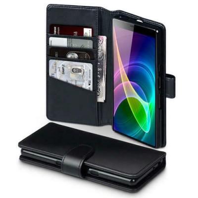 Terrapin Δερμάτινη Θήκη - Πορτοφόλι Sony Xperia 10 - Black (117-005-665)