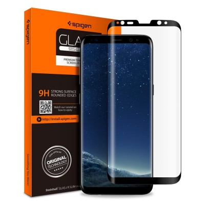 Spigen Galaxy S8 GLAS.tR Full Cover Glass (565GL21777)